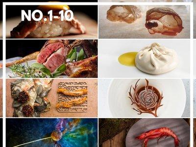 Estos son los 10 mejores restaurantes del mundo: 50 Best Restaurants