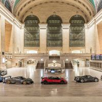 Pagani se adueña de Grand Central en Nueva York