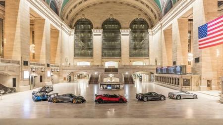 Pagani se adueña de Grand Central en Nueva York