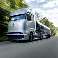 Mercedes-Benz desvela GenH2: el prototipo de camión de hidrógeno que promete 1.000 km de autonomía