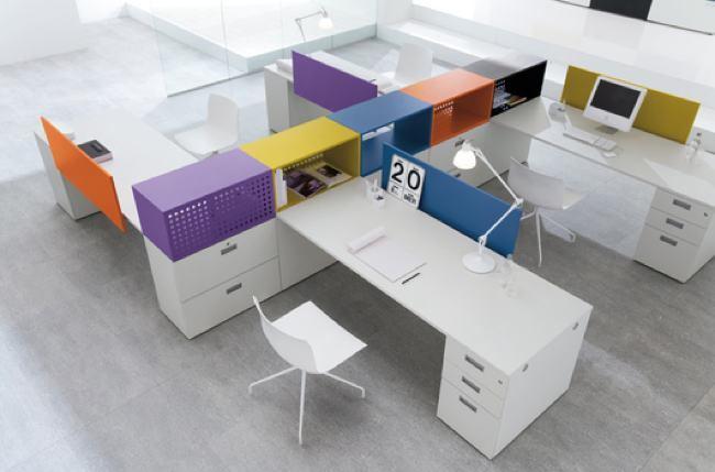 Foto de Coleccion Shi de escritorios para oficinas (4/6)
