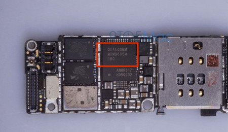 Supuesta placa del iPhone 6s