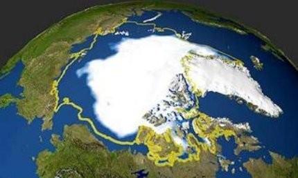 La NASA preocupada por el deshielo en el ártico