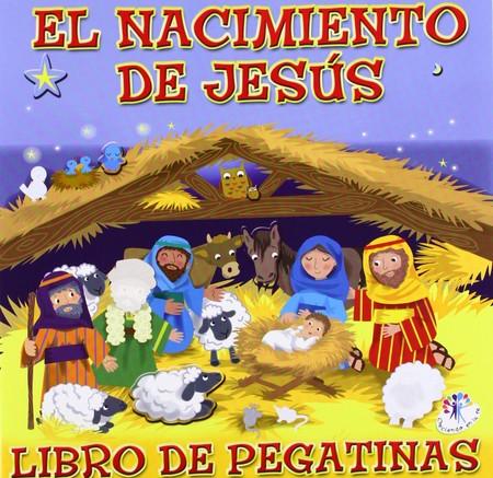 El nacimiento de Jesús pegatinas