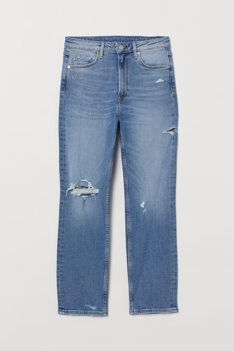 Vintage Slim High Ankle Jeans
