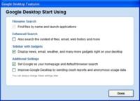 Google Desktop ya no se centra en las búsquedas