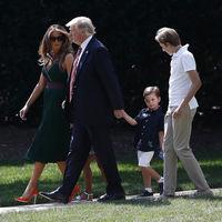Piensa en verde (y naranja) y triunfarás, palabra de Melania Trump