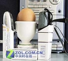 Cocinar un huevo con teléfonos móviles