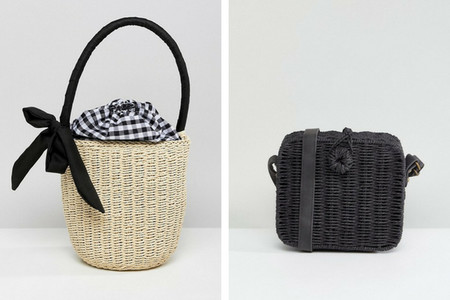 bolso cesta low-cost asos