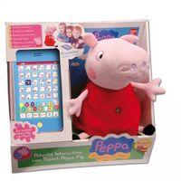 Peluche interactivo con tablet de Peppa Pig por 31,95 euros con envío gratis en Amazon