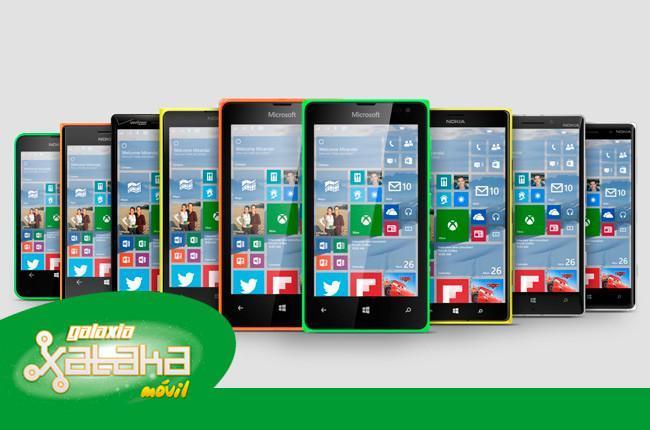 Windows 10 para teléfonos, WhatsApp en la web y más. Galaxia Xataka Móvil