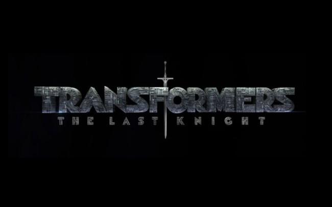 Logo con el título oficial de Transformers 5