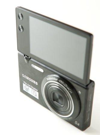 Samsung MV800 Pantalla