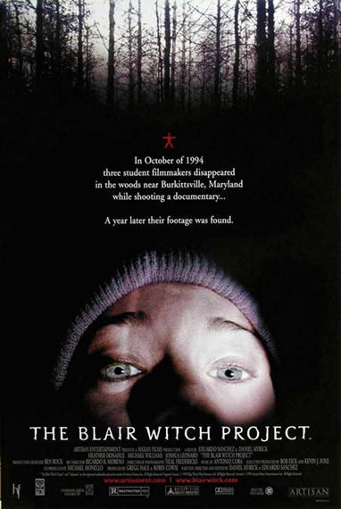Las peores películas que he visto en una sala de cine: 'El proyecto de la Bruja de Blair'