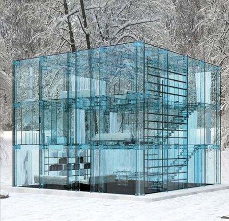 La casa de cristal, obra de Santambrogiomilano