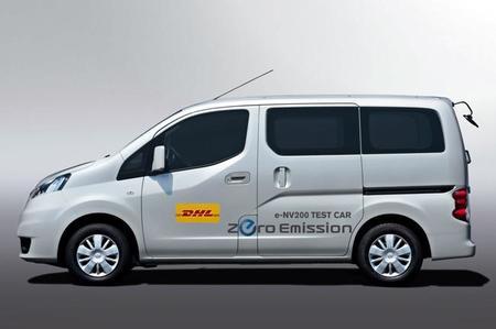 DHL está probando la Nissan e-NV200 en Japón
