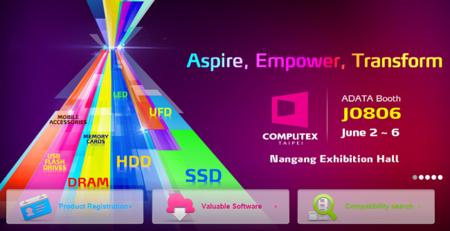ADATA participará en Computex 2015 con productos para gamers, moviles y la nube
