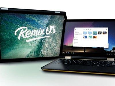 Wolder Nubook 10 y 11 con Remix OS, convertibles y asequibles