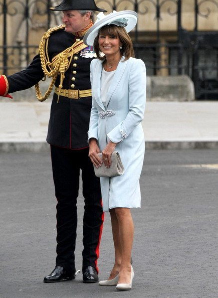 Carole Middleton look