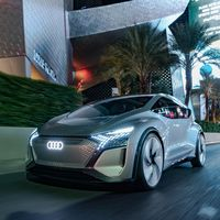 Los Audi del futuro serán coches eléctricos totalmente autónomos, con control ocular y proyecciones 3D