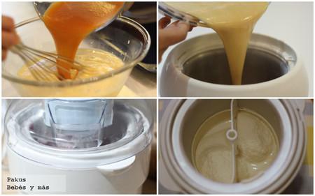 receta como hacer helados caseros con maquina