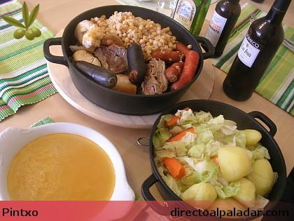 Receta de cocido madrile o - Salsa para bogavante cocido ...