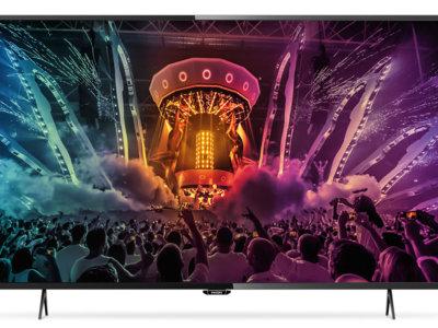 Smart TV 4K Ultra HD Philips 43PUH6101/88 de 43 pulgadas por 379 euros
