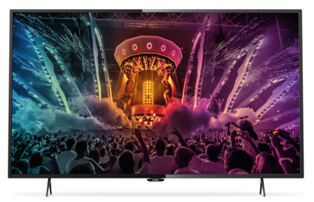 Smart TV 4K Ultra HD Philips 43PUH6101/88 de 43 pulgadas por 379 euros