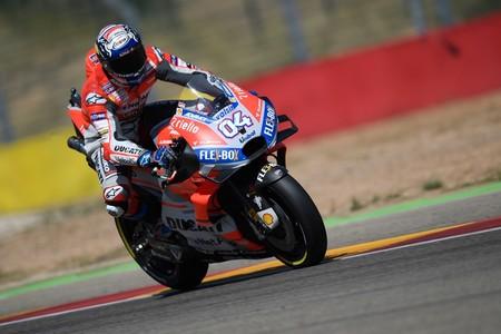 Andrea Dovizioso domina el viernes en MotoGP y las Yamaha levantan cabeza en Tailandia