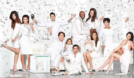 Oh, blanca Navidad también en casa de las Kardashian