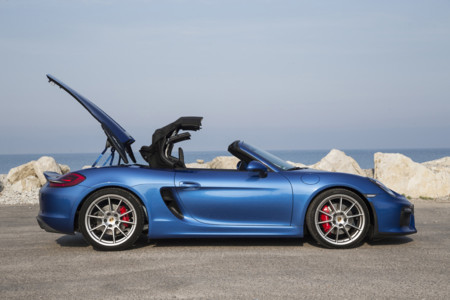 Porsche Boxster Spyder Toma Contacto 31