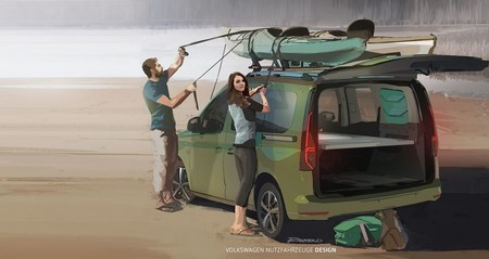 Volkswagen Caddy Beach, el mini camper que necesitas para vivir grandes aventuras anuncia su llegada