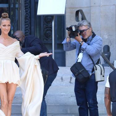 Céline Dion se ha convertido en la persona más importante (y buscada) de la Semana de la Alta Costura en Paris y estos 12 looks lo demuestran