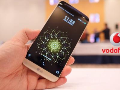 Precios LG G5 con Vodafone, con módulo de cámara y batería híbrida de regalo