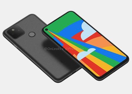 Google Pixel 5 Renders Filtrados Diseno Pantalla