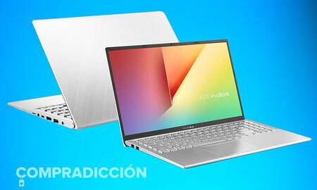 ASUS VivoBook S512JA-BQ1028: un económico y equilibrado portátil que puedes comprar más barato en eBay por 419 euros