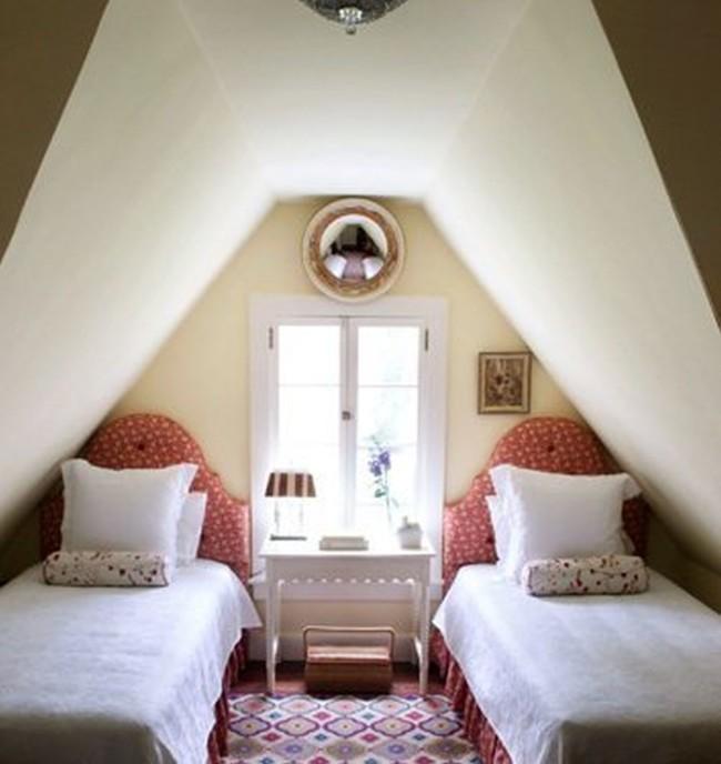 dormitorio buhardillas