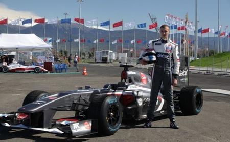 Sergey Sirotkin estrenó el circuito de Sochi a los mandos de un C31