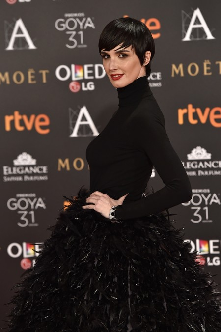 Paz Vega apuesta por la moda española y gana, su Jorge Acuña es perfecto