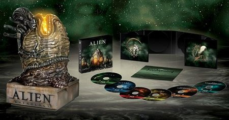 Pack de Alien en bluray