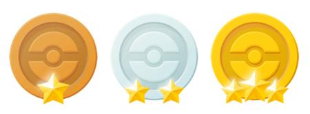 En Pokémon Go, las medallas se dan al lograr ciertos objetivos