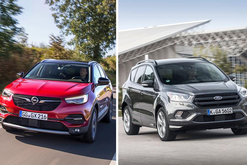 Comparativa Ford Kuga vs Opel Grandland X: ¿cuál es mejor para comprar?