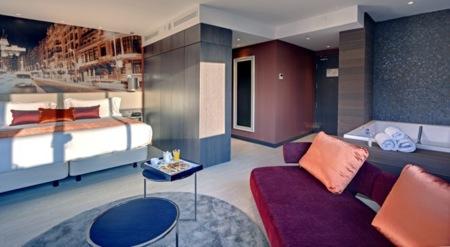 Si aún no has visto el Hotel Boutique de Indigo en Madrid te va a encantar