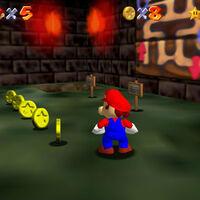 Super Mario 64: cómo conseguir la estrella Navigating the Toxic Maze de Hazy Maze Cave
