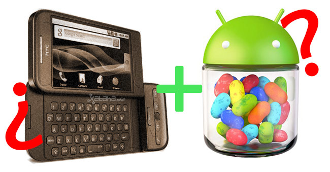 htc dream jelly bean