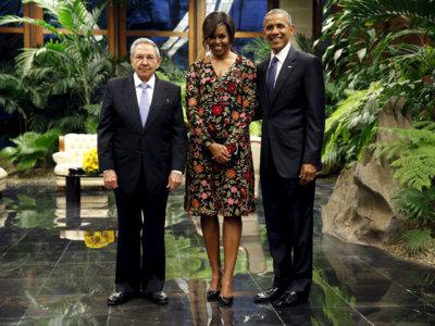 Las mejores imágenes para el recuerdo de los Obama en Cuba