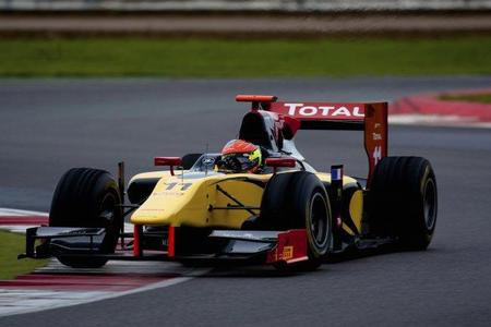 Romain Grosjean ha sido el más rápido en los tests de la GP2 en Silverstone