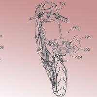 Honda plantea un dron autónomo integrado en sus motos para monitorizar el tráfico, aunque solo es una patente