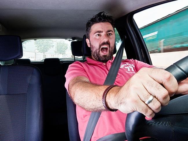 Estrés en la conducción