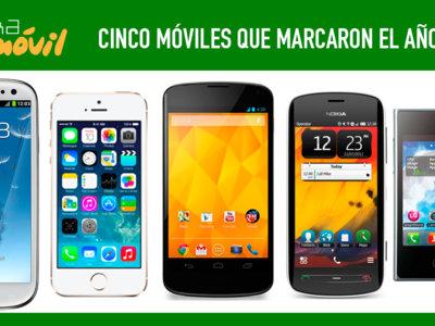 Cinco móviles que marcaron el año 2012